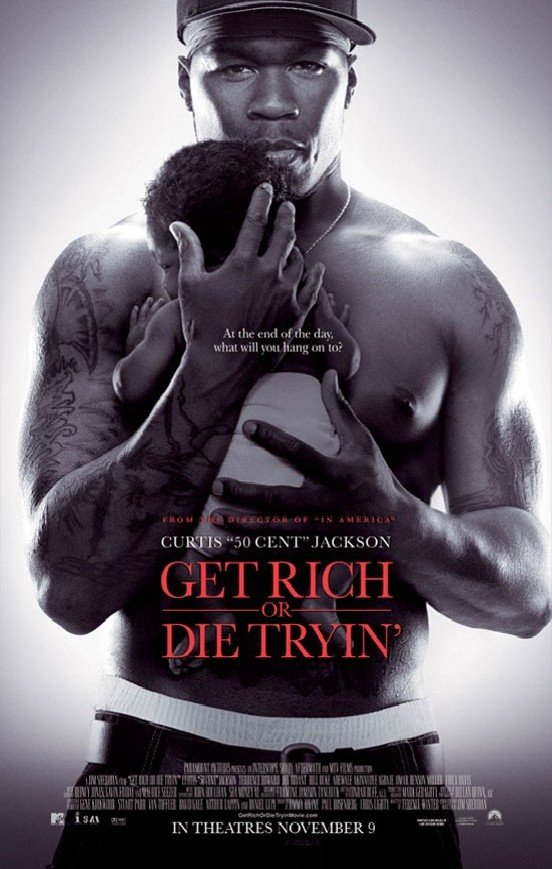 Get Rich or Die Tryin' starring 50 Cent - TheMovieReport.com 50 Cent Get Rich Or Die Tryin