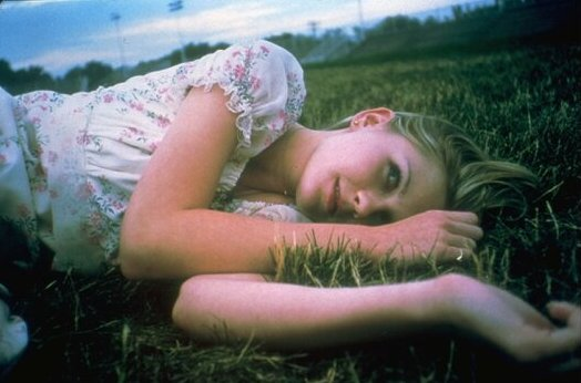 Kirsten Dunst as Lux Lisbon in The Virgin Suicides