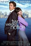 Two Weeks Notice one-sheet