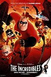 The Incredibles one-sheet