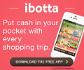 get cash back while shopping with Ibotta!
